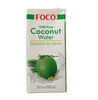 FOCO Pure Kokosnussaft  1000 ml. Pure 100% Coconut water