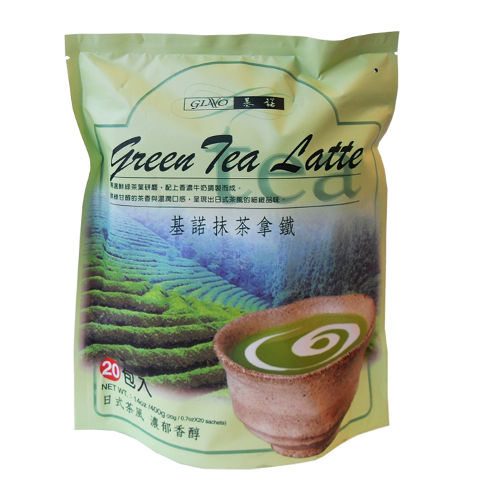 GINO Green Tea Latte 400 g (20 x 20g)