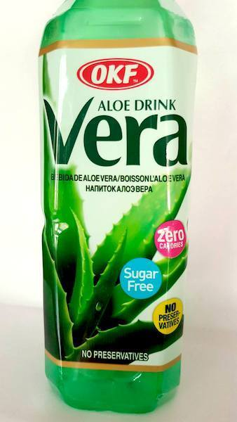 OKF Aloe Vera getränk, Zuckerfrei 0,5 L - Asia Food Specialities