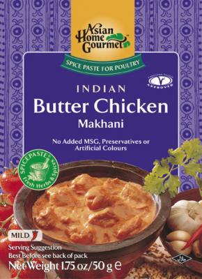 asian butter chicken