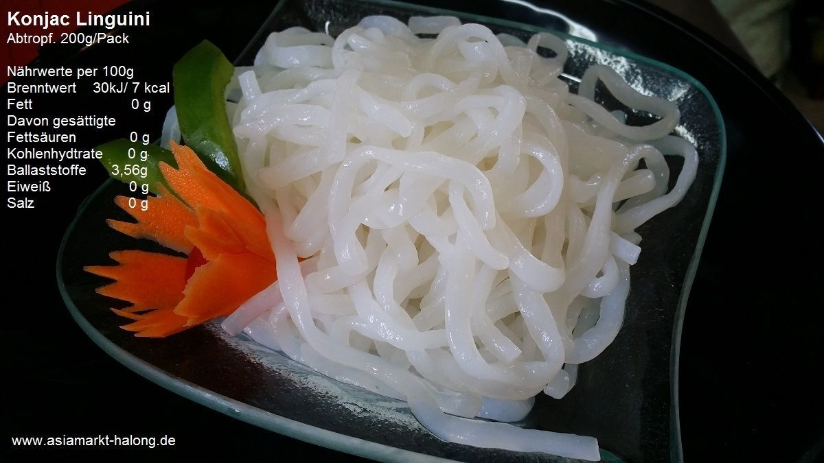 konjak shhirataki nudeln linguini top qualit t 0 kohlenhydrate asiatica thai asia food. Black Bedroom Furniture Sets. Home Design Ideas