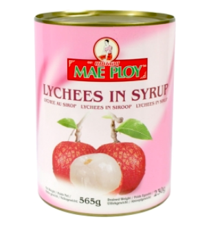Mae Ploy Lychees in Sirup 565g, Litschis